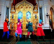 Kim Gordon's Pussy Riot